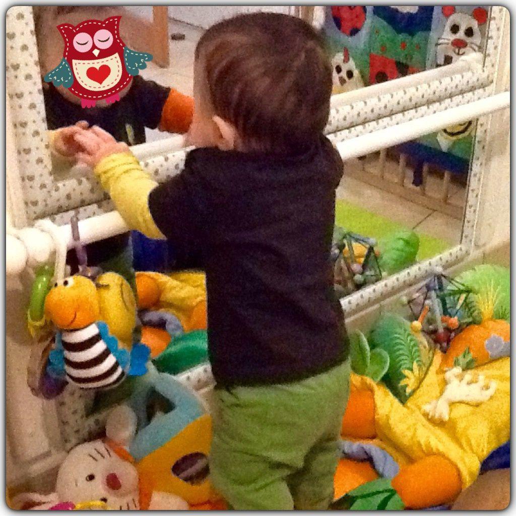 Nouvelle installation au coin bébé (inspiration Nido / Montessori)