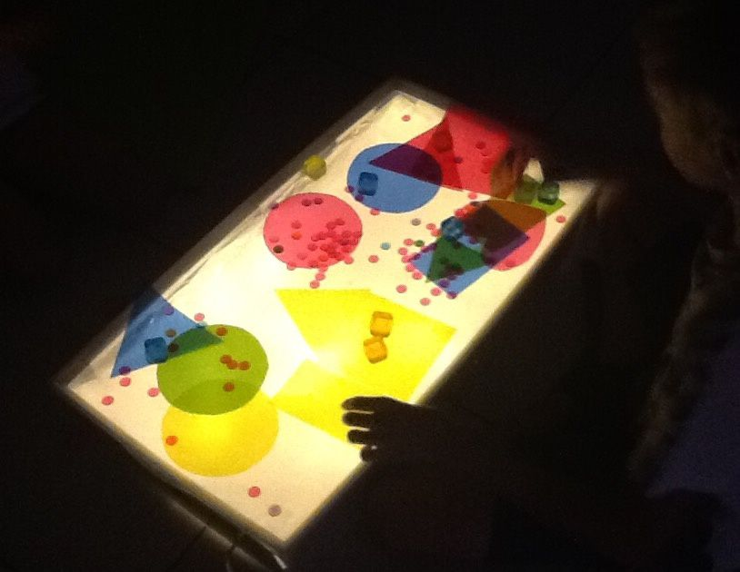 �Notre Table Lumineuse ✨