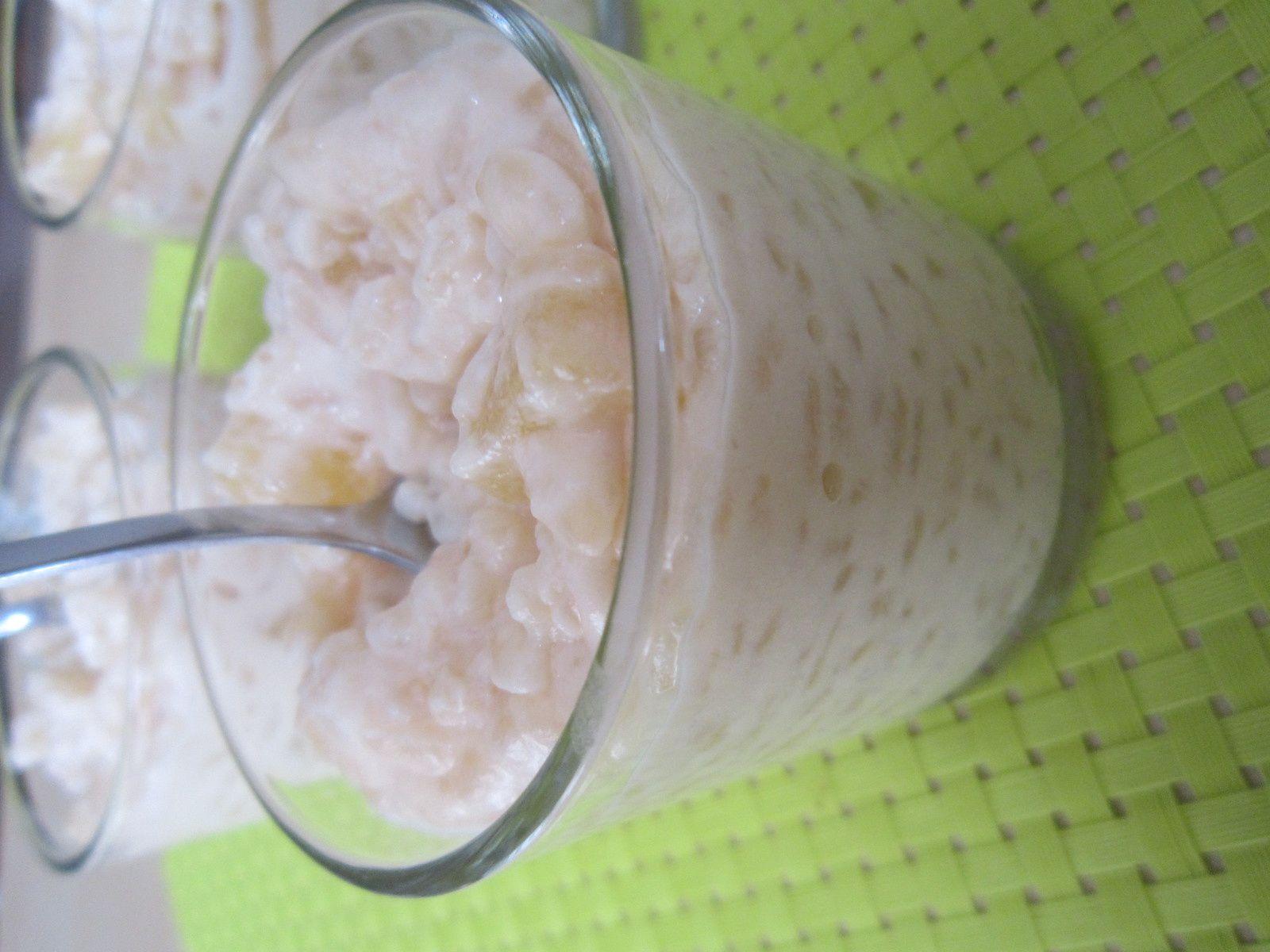 Riz au lait ananas parfumé à la Badiane