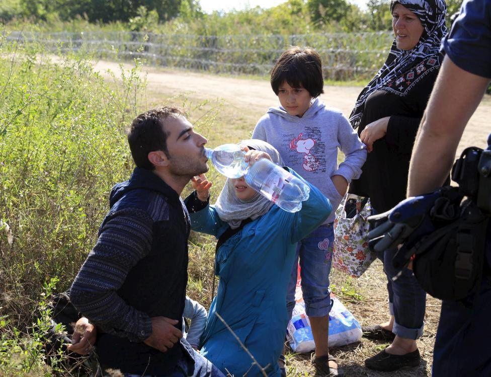 La tragédie des réfugiés syriens résumée en quelques clichés