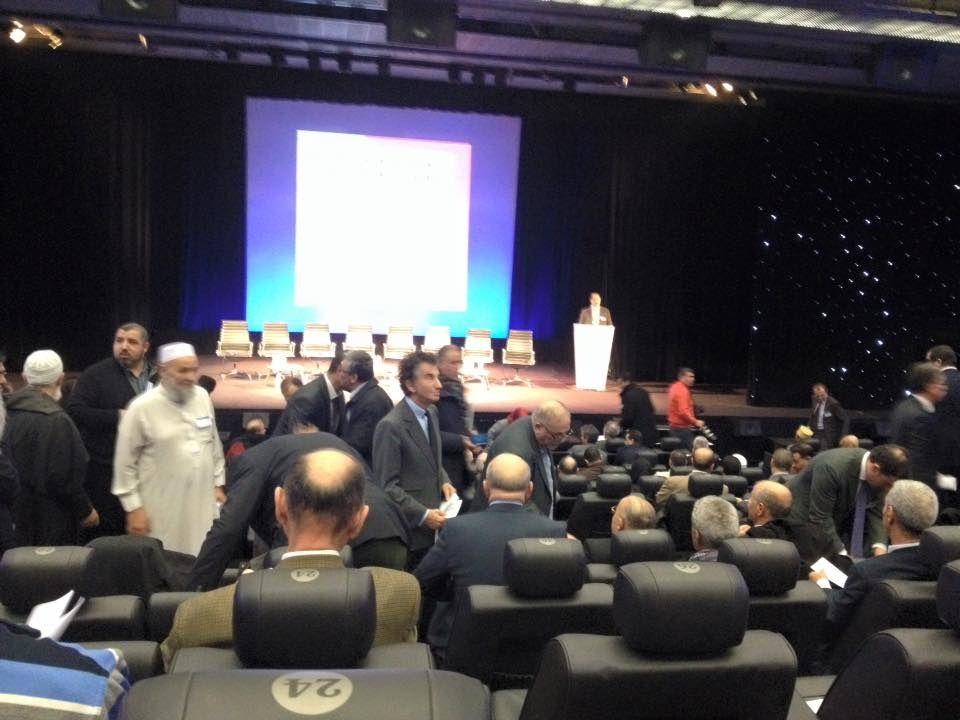 Rassemblement des musulmans à l'IMA