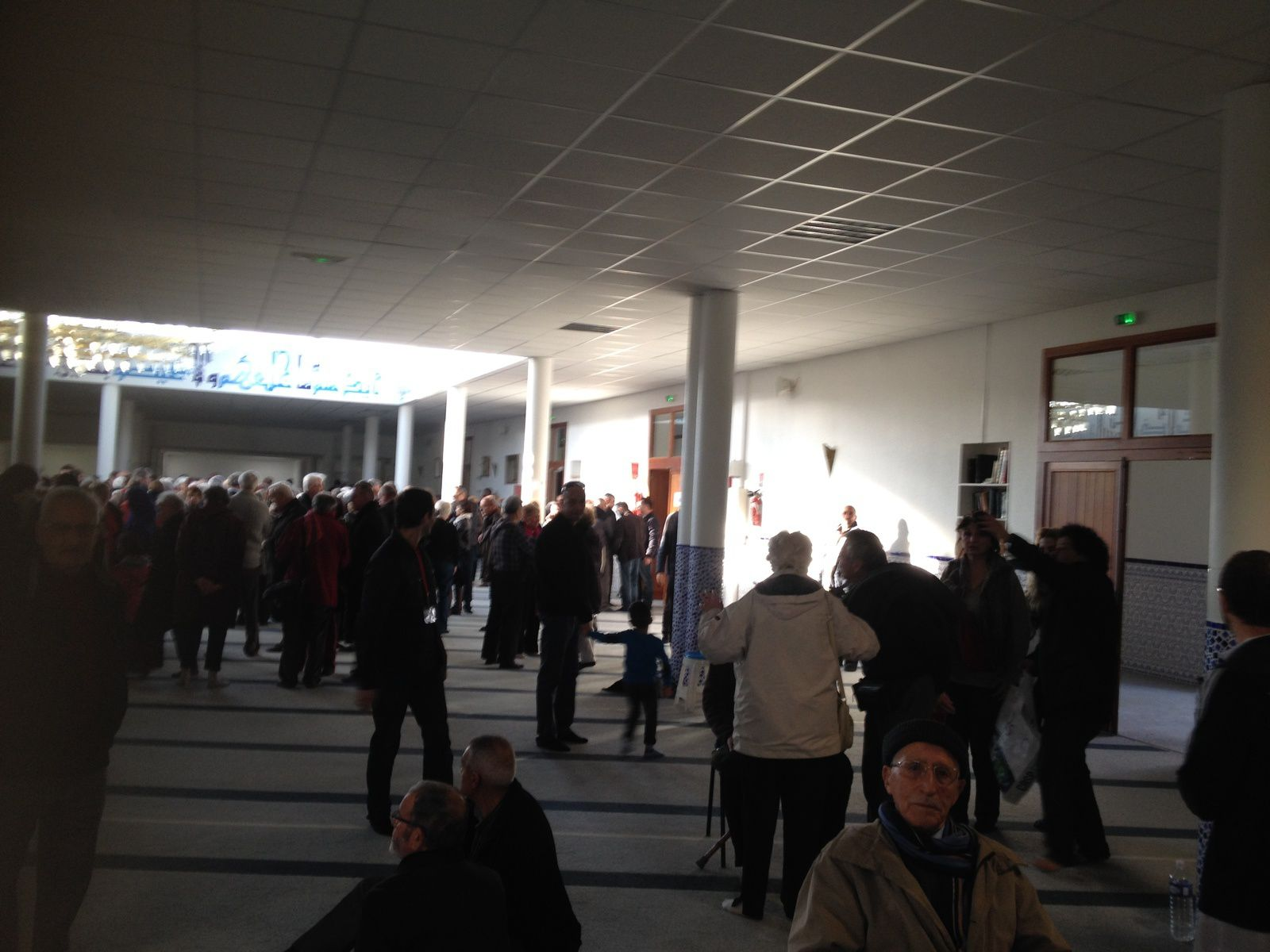 Rencontre fraternelle à la mosquée de Valence