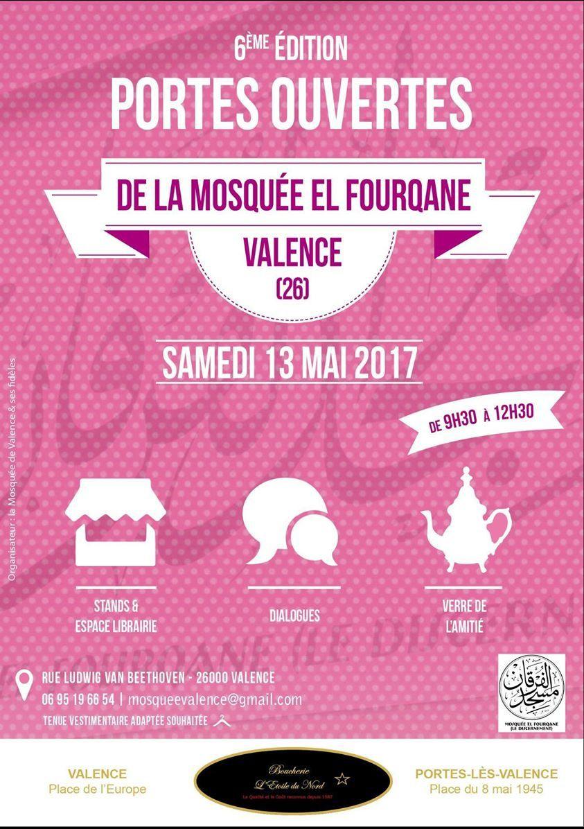 Portes ouvertes de la mosquée de Valence 2017