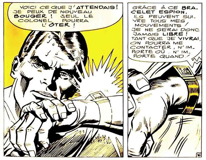 Stan Lee l'avait imaginée à la fin des années 60 au bras de Captain Marvel (première mouture) qui semble lancer un avertissement du fond du Marvel N°1 (1970) sous la plume de Gene Colan.