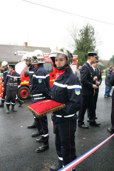 Inauguration de la caserne de Pompiers de Chaumergy