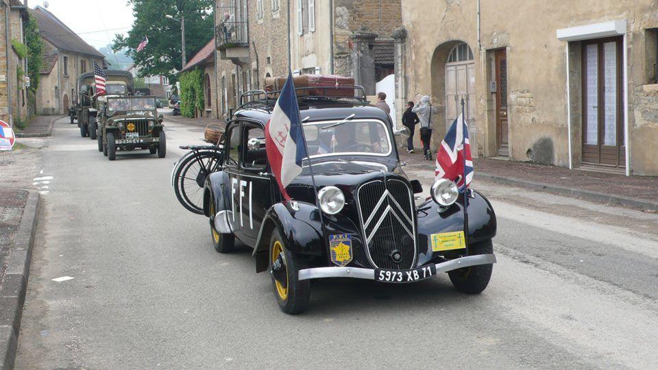 Plainoiseau célèbre le soixante-dixième anniversaire de la Libération