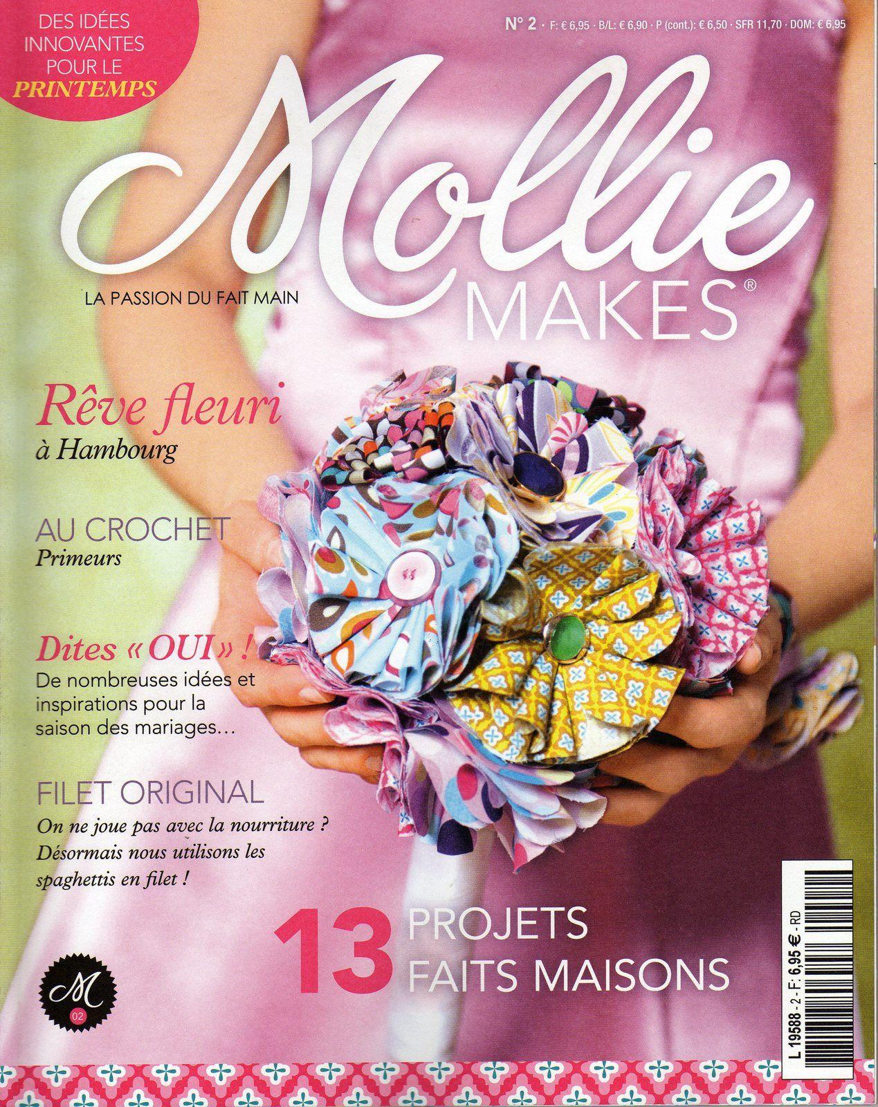 Mollie Makes n°2 !!!!