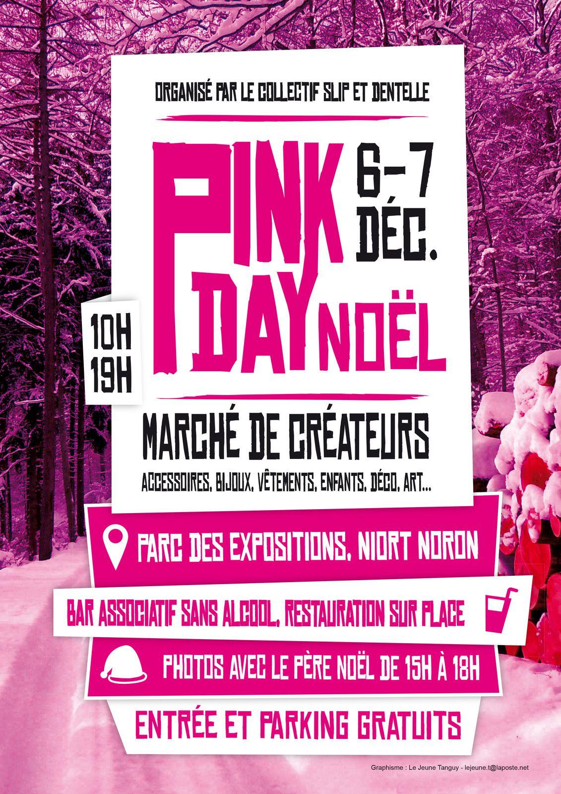 Pink Day de décembre à Niort samedi 6 et dimanche 7