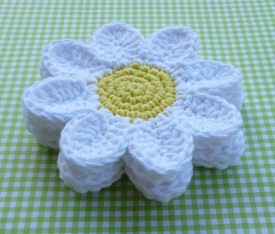 Diy marguerite au crochet