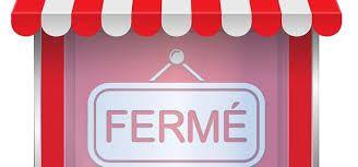 fermeture de la boutique vendredi soir 15 janvier