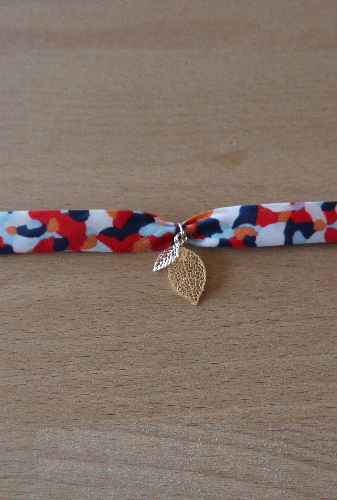 Tuto bracelet or rose