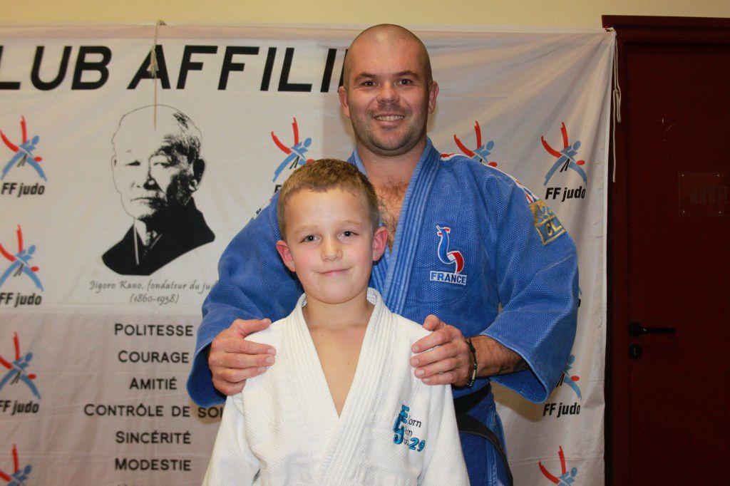 Photo lors de l'entrainement avec Sébastien LE MEAUX