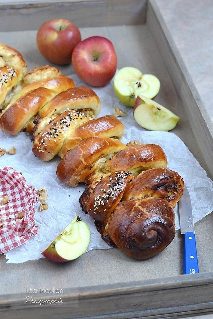 Brioche au camembert, pomme épicée et fruits secs - Concours Carrefour