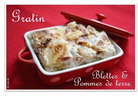 Gratin de blettes &amp&#x3B; pommes de terre