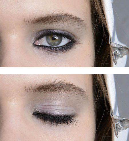 Pour les yeux je craque littéralement sur ce maquillage, dommage que je n'ai pas les yeux clairs.