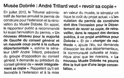 Ouest France - 29-01-2014