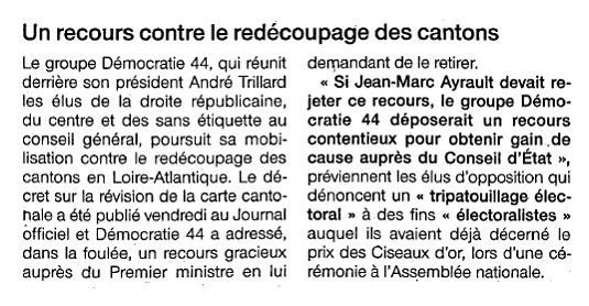 Ouest France - 06-03-2014