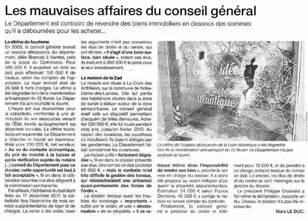 Ouest France - 16-07-2014