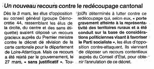 Ouest France - 19/05/2014