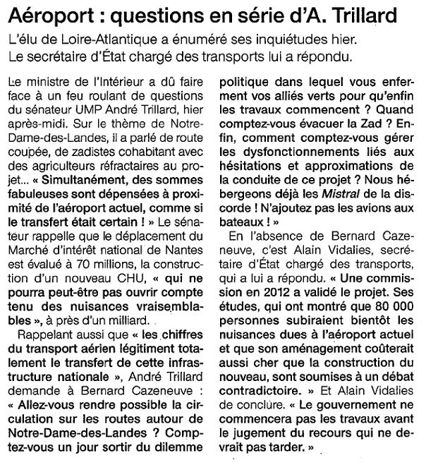 Ouest France - 05/06/2015