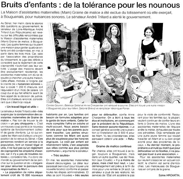 Ouest France - 22-07-2015