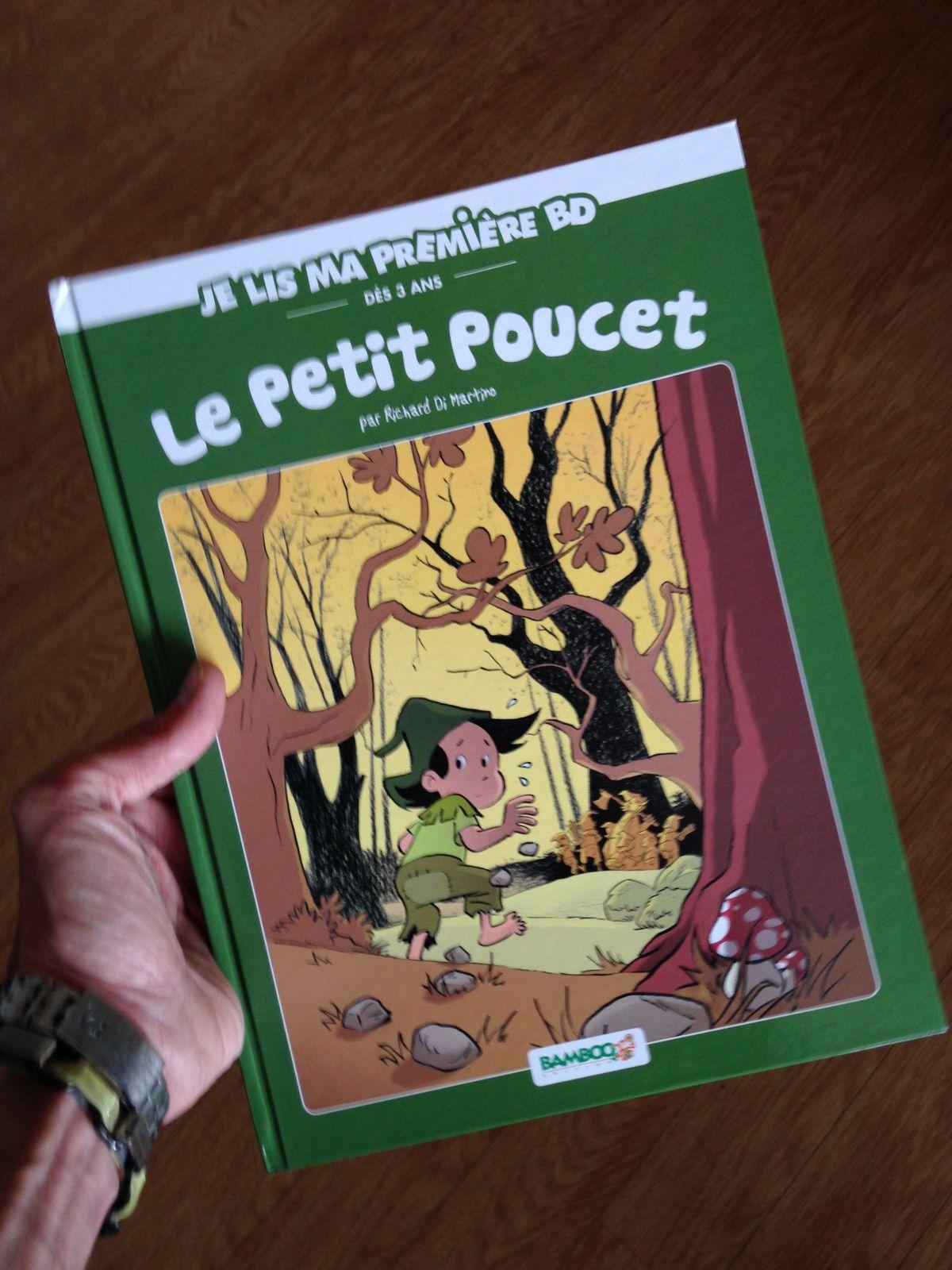 (couverture du Petit Poucet, Par Richard Di Martino)
