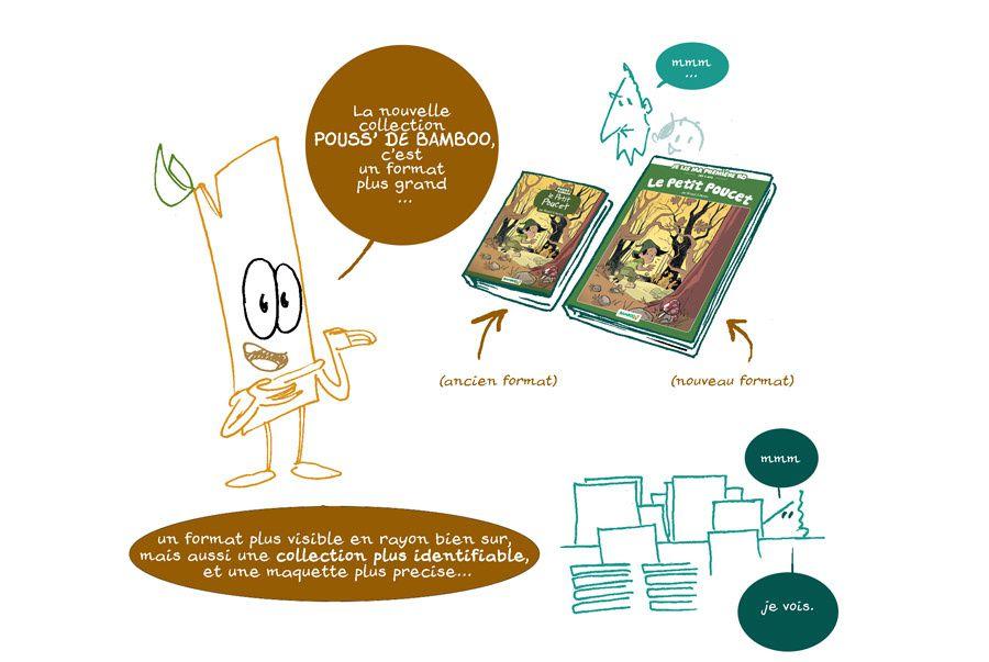 La nouvelle collection Pouss de Bamboo expliquée à Papa !