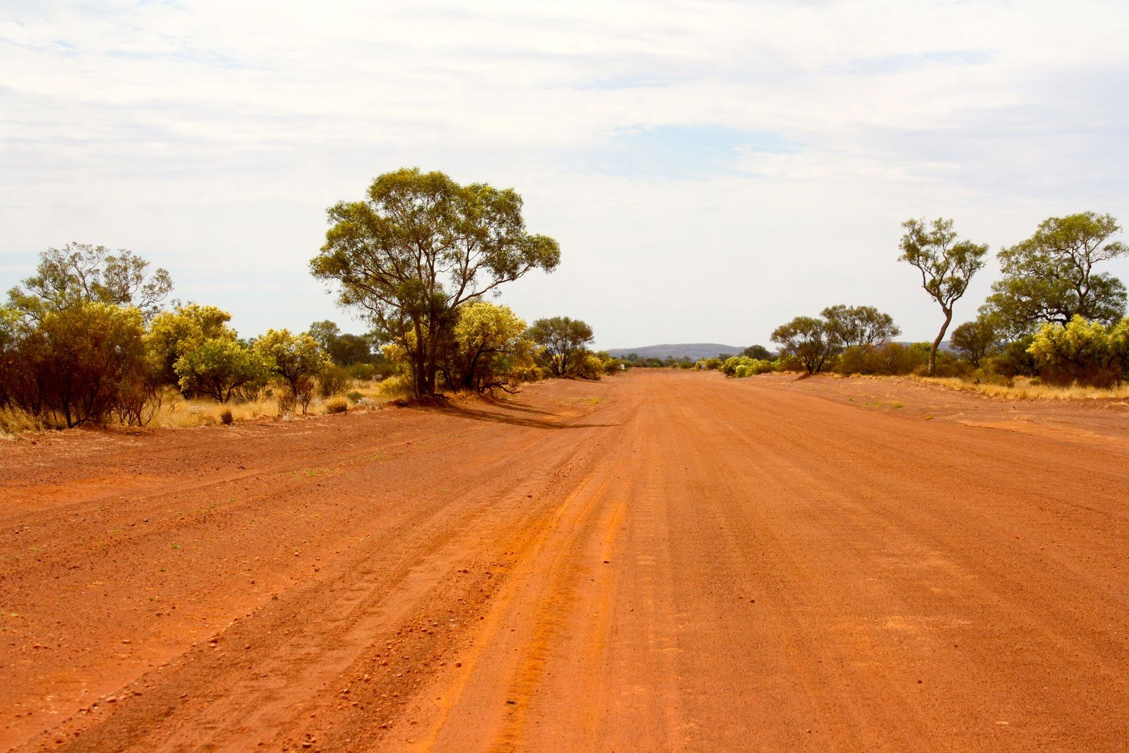 On the way to the Red Centre ...