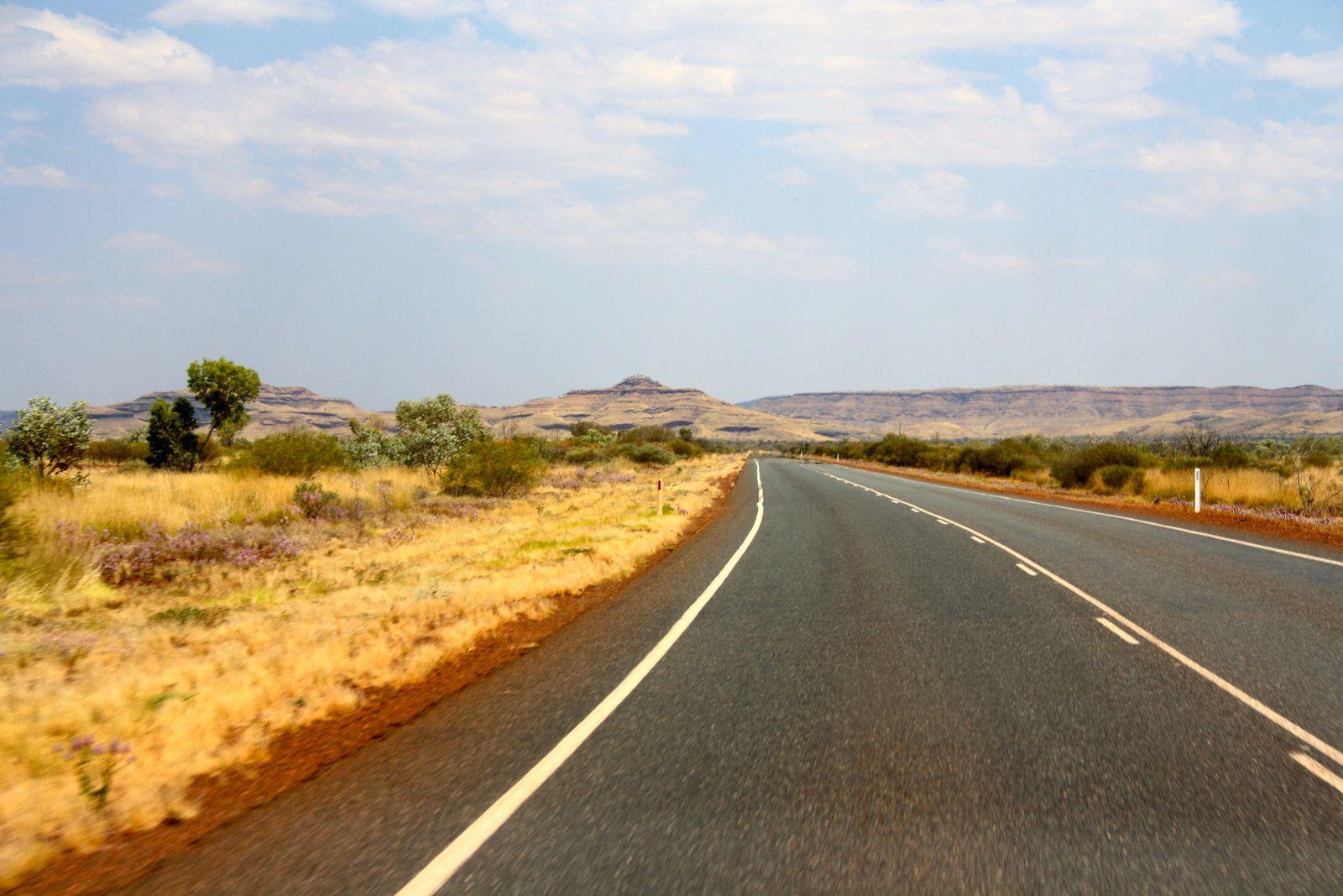 On the way to Karijini National Park