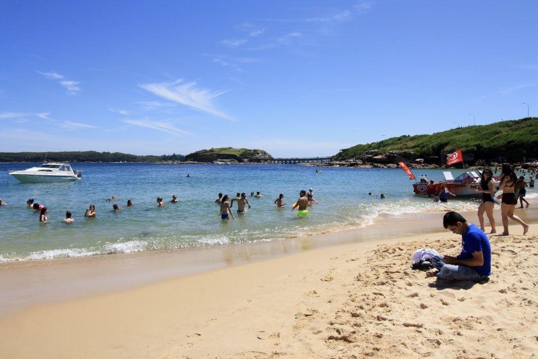 New Year Day @ Congwong Beach , Sydney