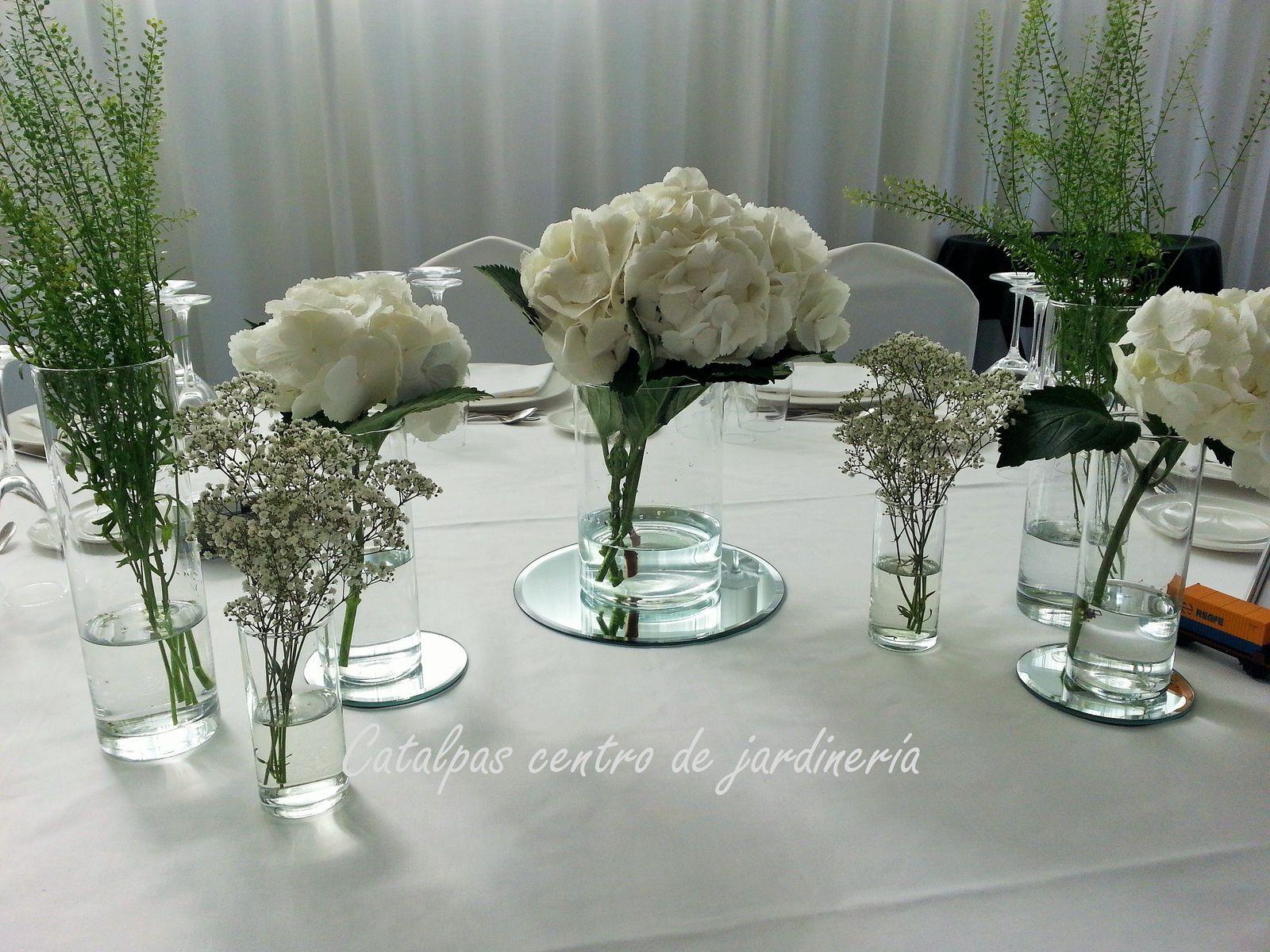 La boda blanca de Isabel y Alex - Catalpas centro de jardinería
