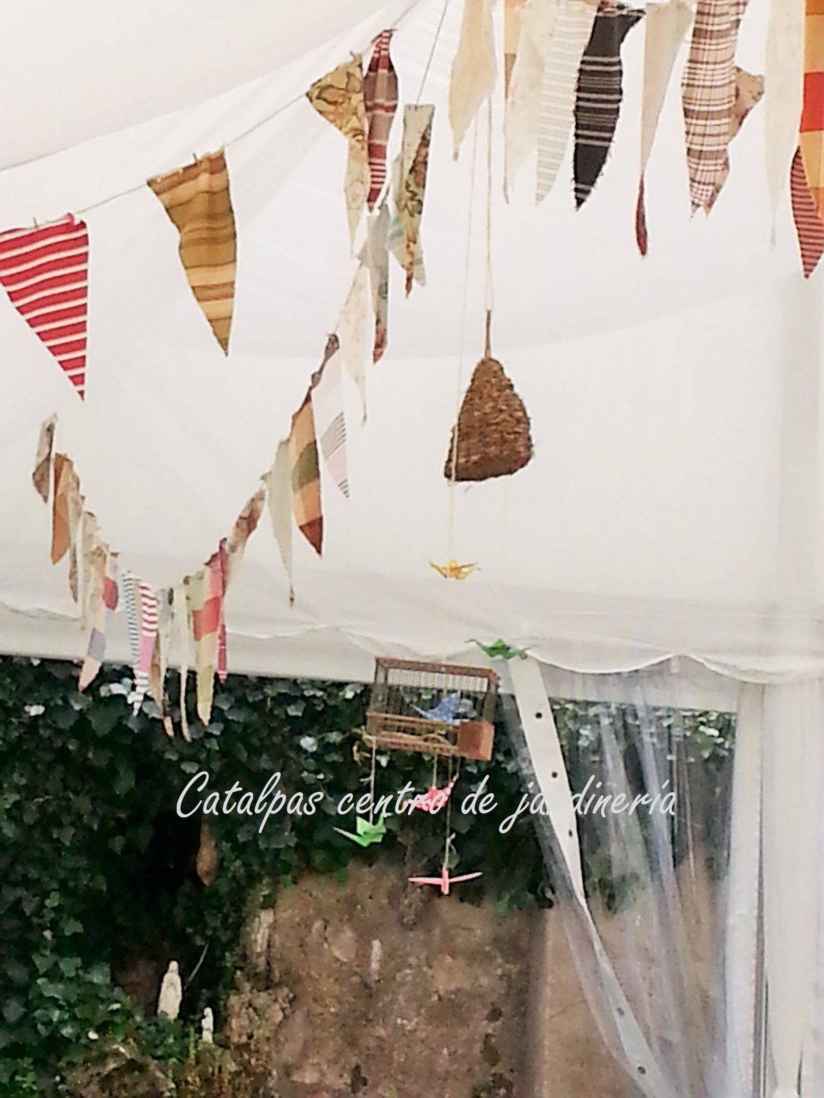 Detalles carpa - catalpas