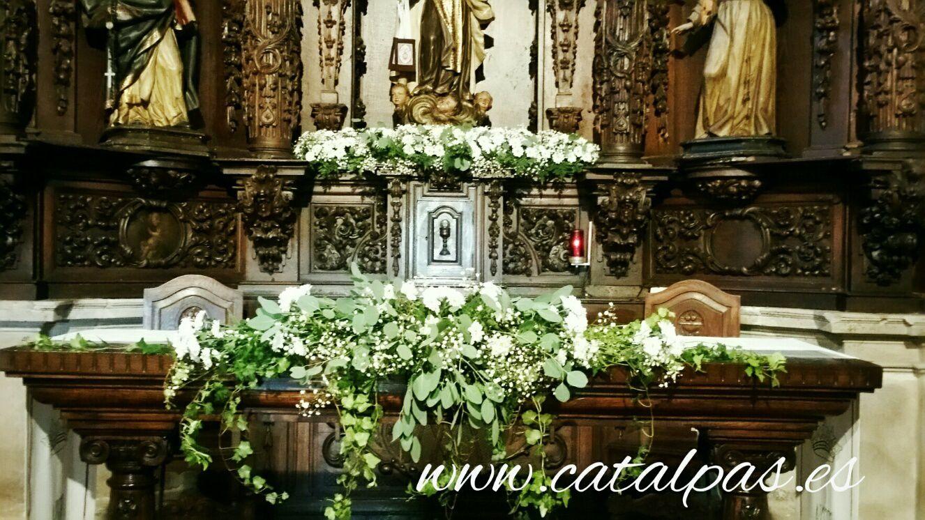 Capilla de la casona #ceremonias #catalpas