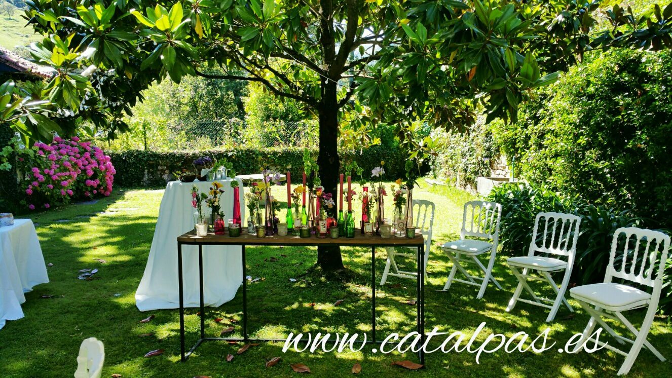 #catalpas #decoraciónbodas