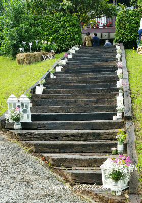 #catalpas #decoracionbodas #escaleras