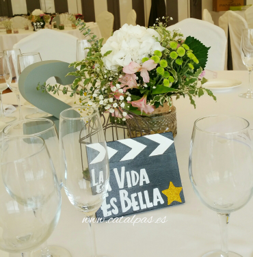 #catalpas #mesas #decoracionbodas