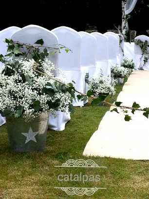 Ceremonia #decoracion #catalpas