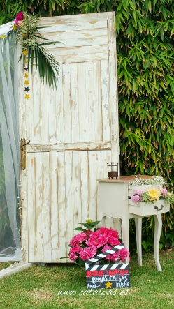 #catalpas # photocall #decoracionbodas