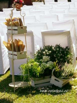 #decoraciónbodas #catalpas #bodamyq2015catalpas