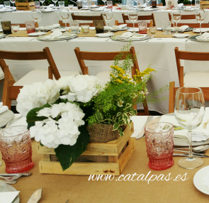 #catalpas #decoracionbodas #decoracioncarpas #bodas2016