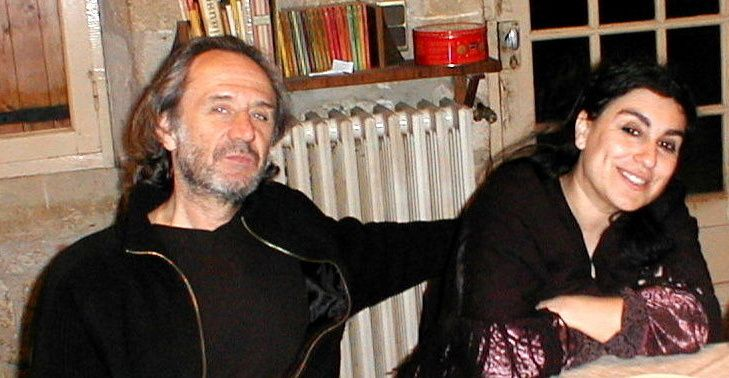 Michel et Patricia chez Christian crédit Photo Christian Cluzeau
