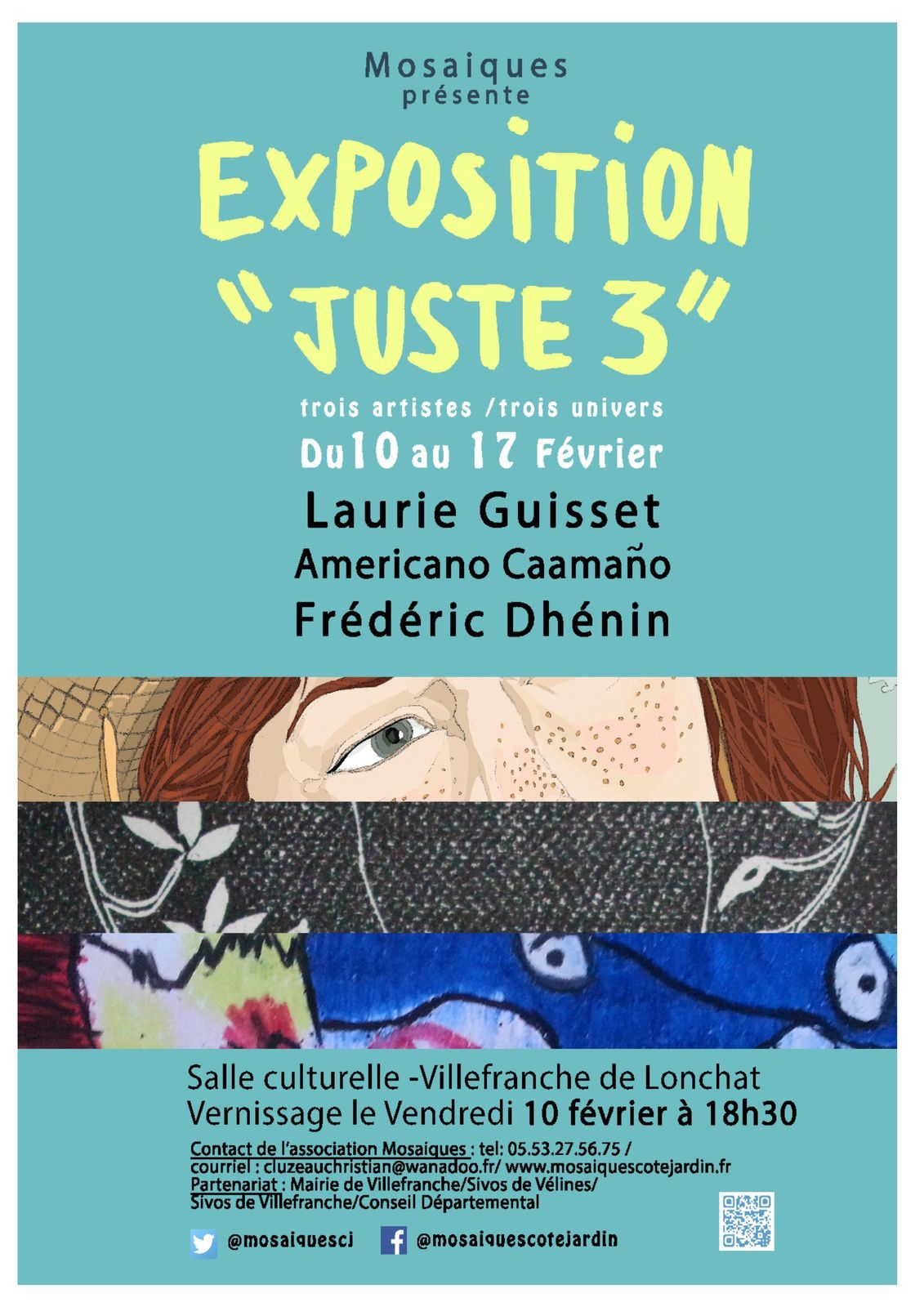 conception affiche Laurie Guisset (Illustratrice freelance)