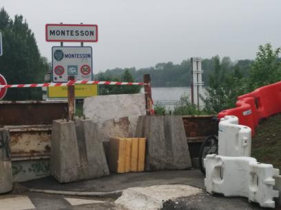 Les boucles de la Seine sont inaccessibles