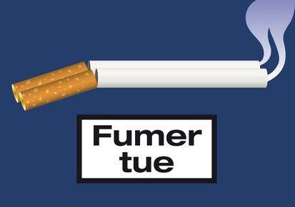 La cigarette responsable de la moitié des décès liés au cancer ?