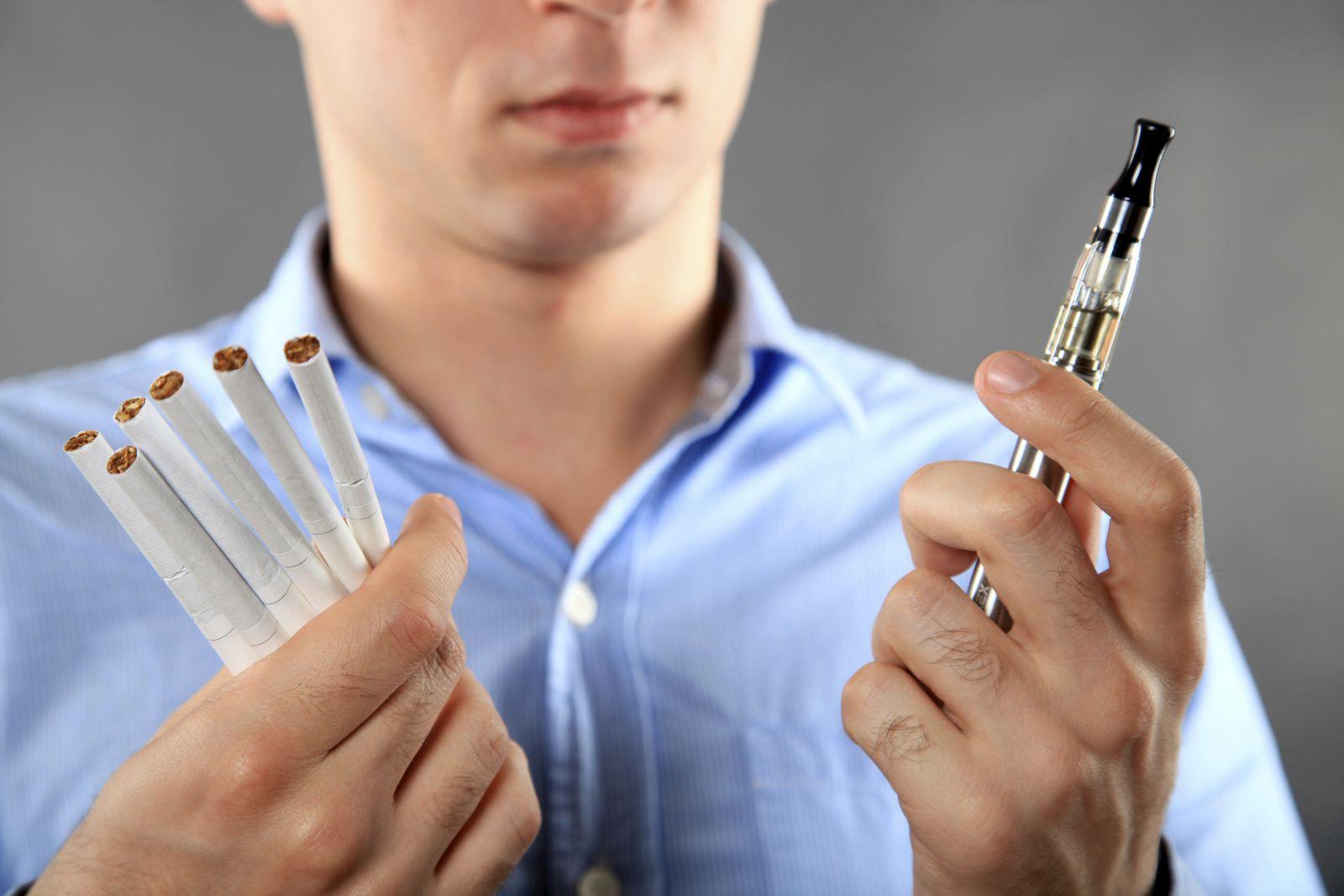 Ancien fumeur et nouveau vapoteur