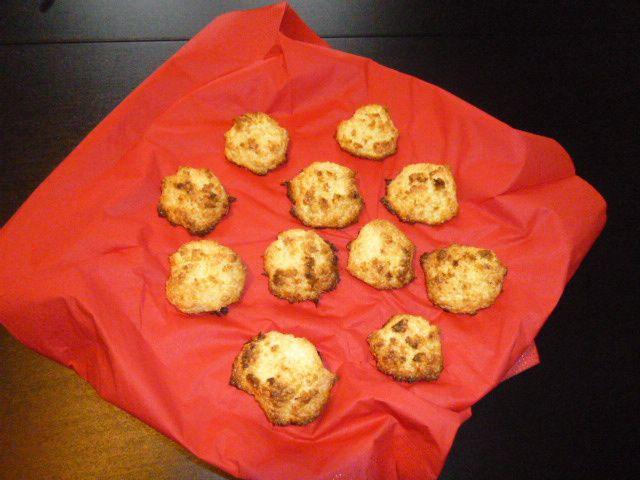 biscuits vite-faits : les rochers congolais