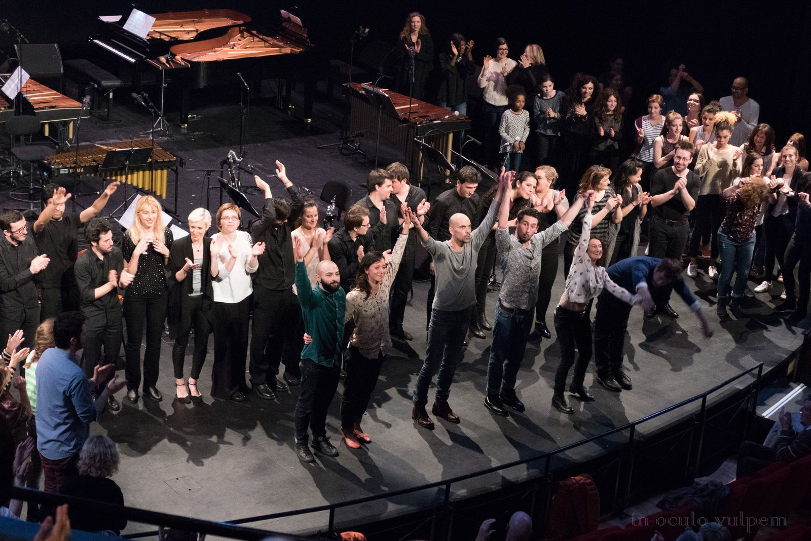 Music for 18 musicians, Steve Reich/Compagnie Sylvain Groud
