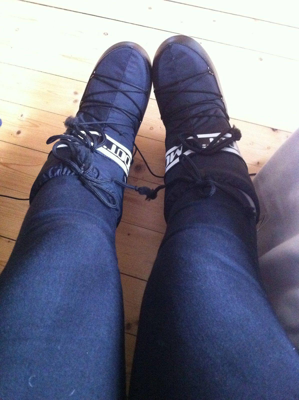 Les moon boots ou le choix du confort plutôt que de l'ésthétique