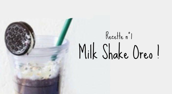 Milk Shake Oreo !