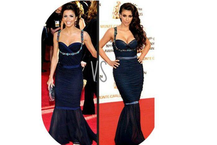 Battle de Look ! : Eva Longoria VS Kim Kardashian !